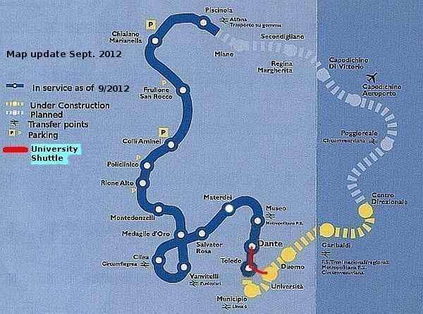 Napoli Subway Map.Naples Life Death Miracle