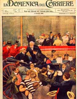 Front page                   after the assassination of the king.